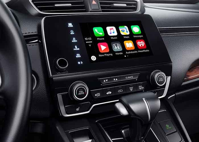 2018 honda cr v technology features for Honda apple play