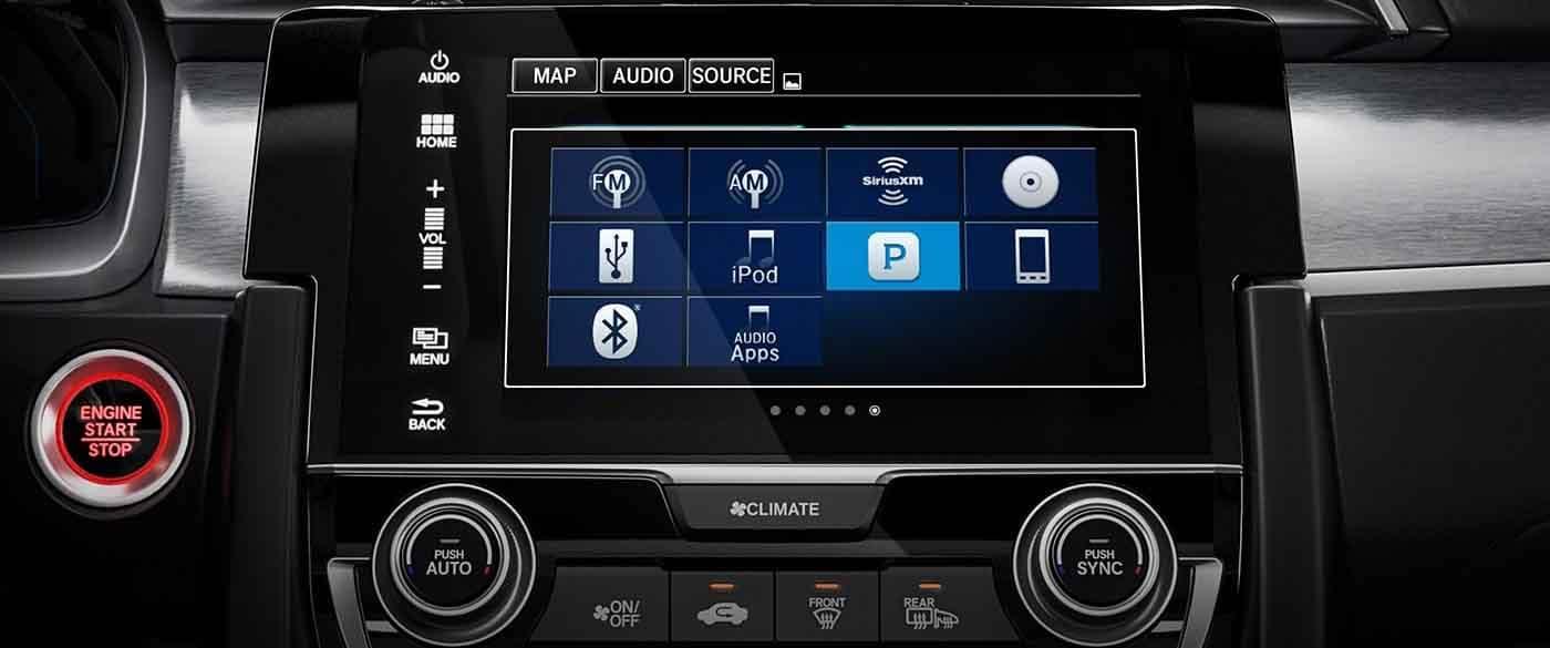 2018 Honda Civic Hatchback 7inch Touchscreen