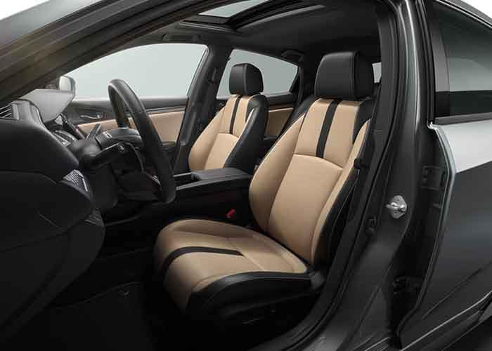 2018 Honda Civic Hatchback Adjustable and Heated Seats