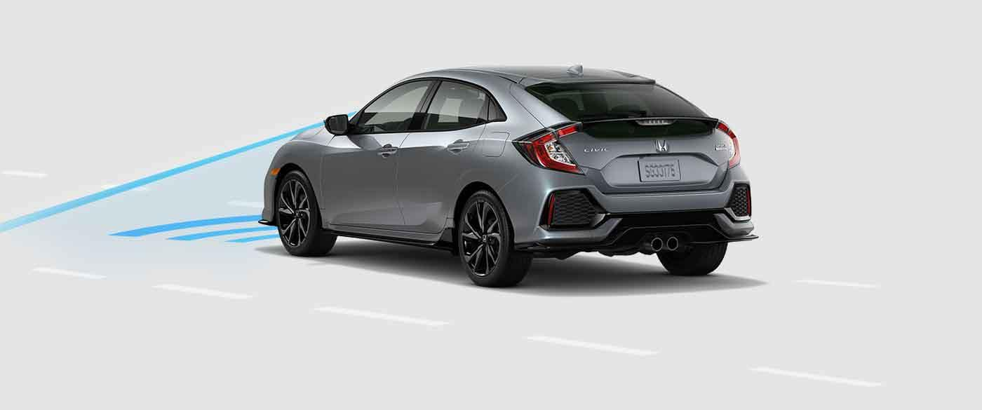 2018 Honda Civic Hatchback Collision Mitigation Braking System