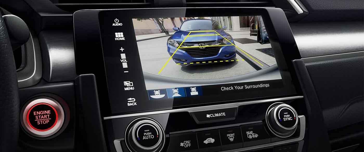 2018 Honda Civic Hatchback Rearview Camera