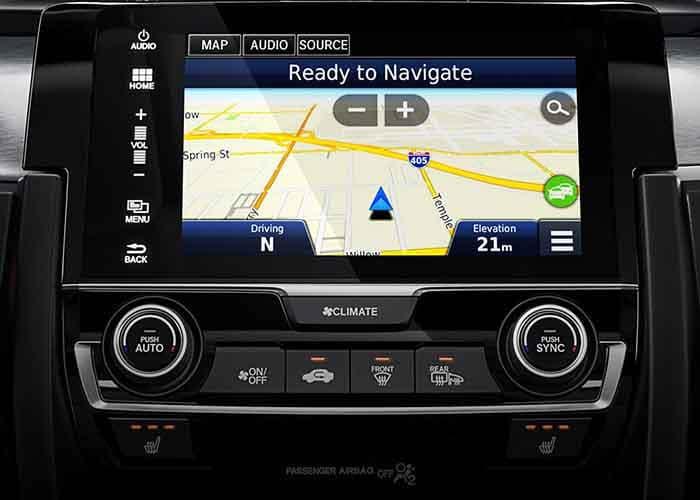 2018 Honda Civic Sedan Navigation 700 copy