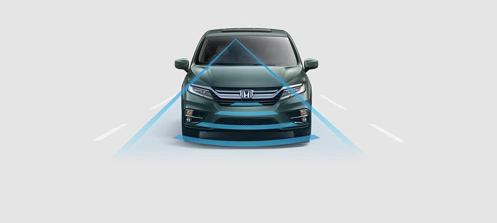 2018 Honda Odyssey Alert