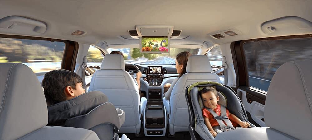 2018 Honda Odyssey Passengers