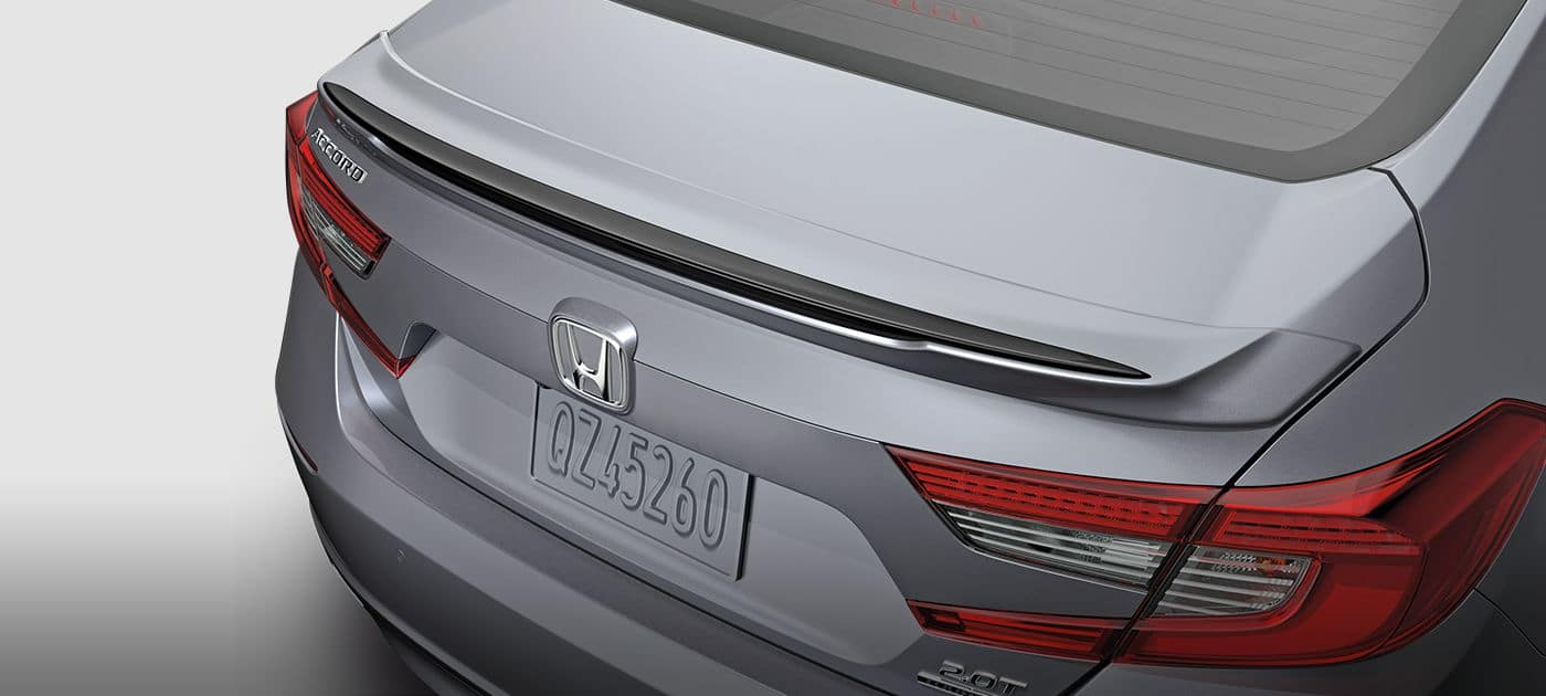 2018 Honda Accord Rear Decklid Spoiler