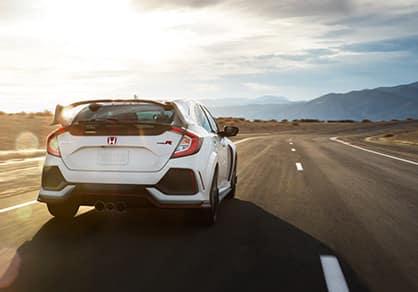 2018 Honda Civic Type R driving