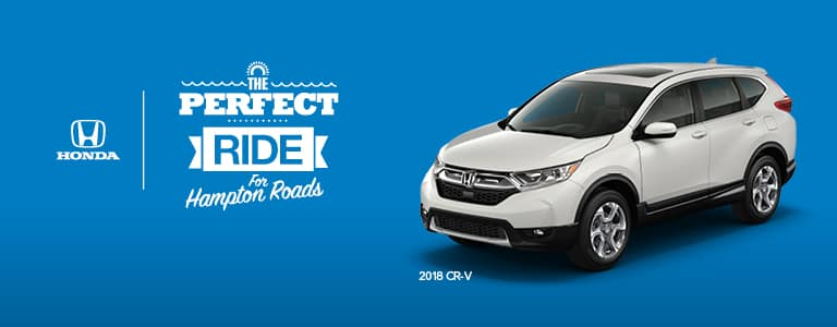 2018 CR-V Hampton Roads Honda Dealers Perfect Ride