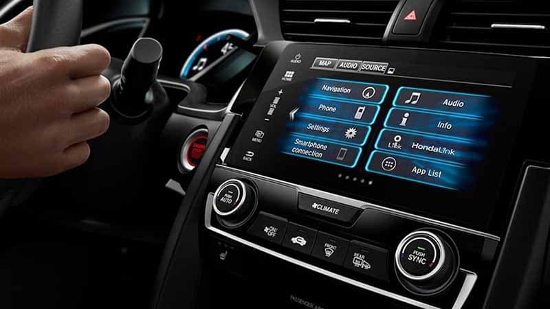2018 Honda Civic Coupe Automatic Climate Control