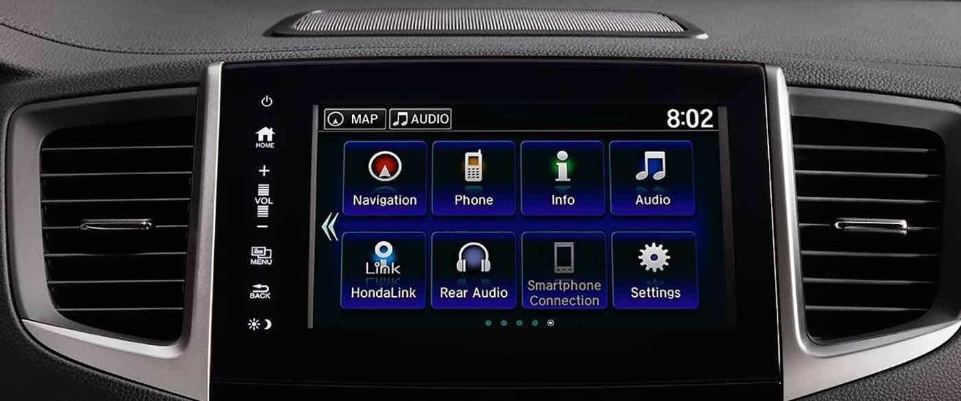 2018 Honda Pilot 8 inch Display Screen