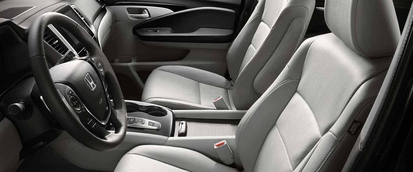2018 Honda Pilot Elite Perforated Seating