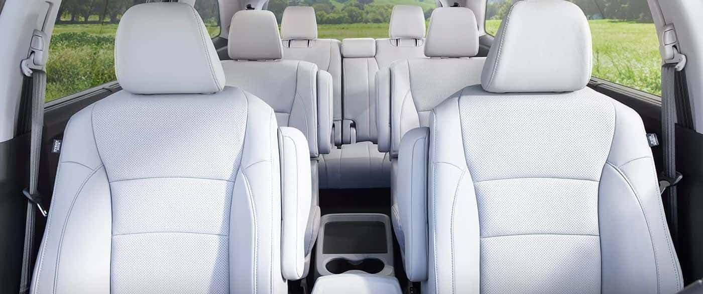 2018 Honda Pilot Leather Seating
