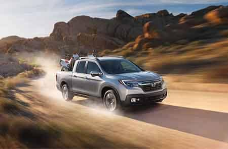 2018 Honda Ridgeline Power off-roading