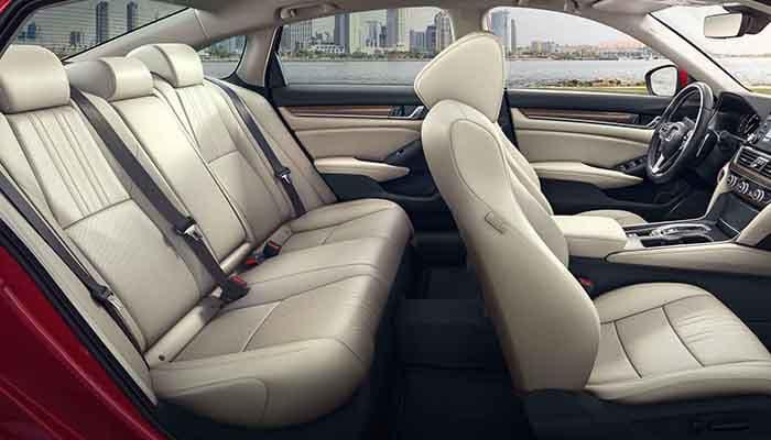 2018 Honda Accord Interior Seating side view
