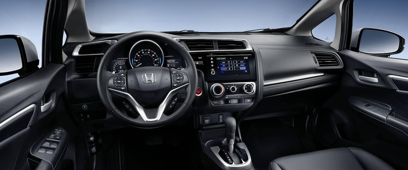 Interior Front Dashboard of 2018 Honda Fit