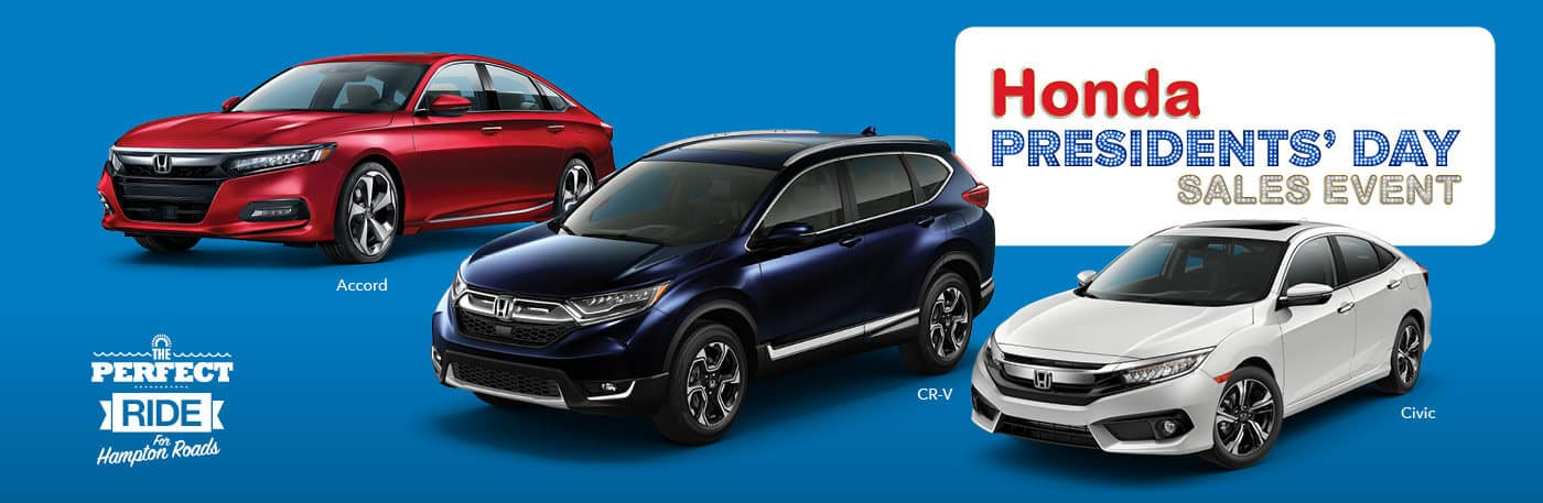 Hampton Roads Honda Presidents Day Sales Event