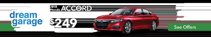 Hampton Roads Honda Dream Garage 2018 Accord Lease Offer