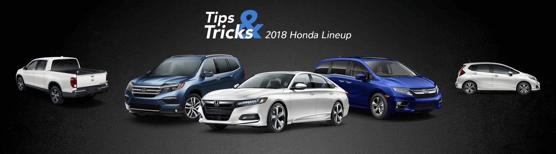 2018 Honda Tips and Tricks Banner
