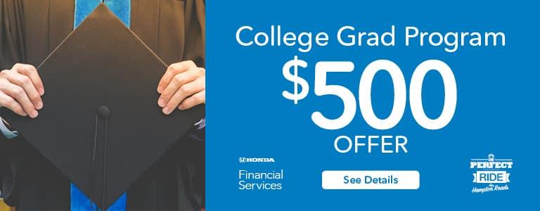 Hampton Roads Honda College Graduate Program