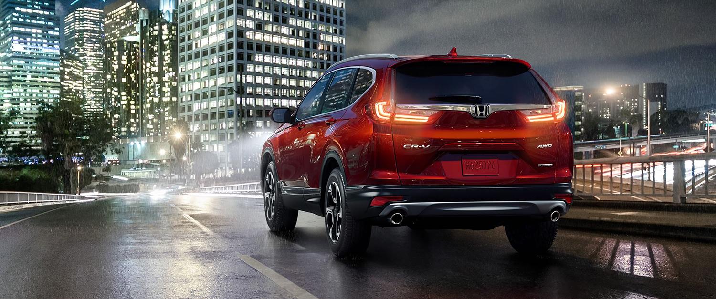 2017 Honda CR-V AWD Exterior Rear Angle