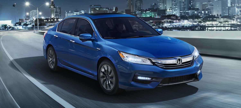 2017 Honda Accord Hybrid Exterior Night Blue