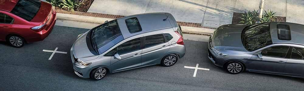 2018 Honda Fit parallel parking
