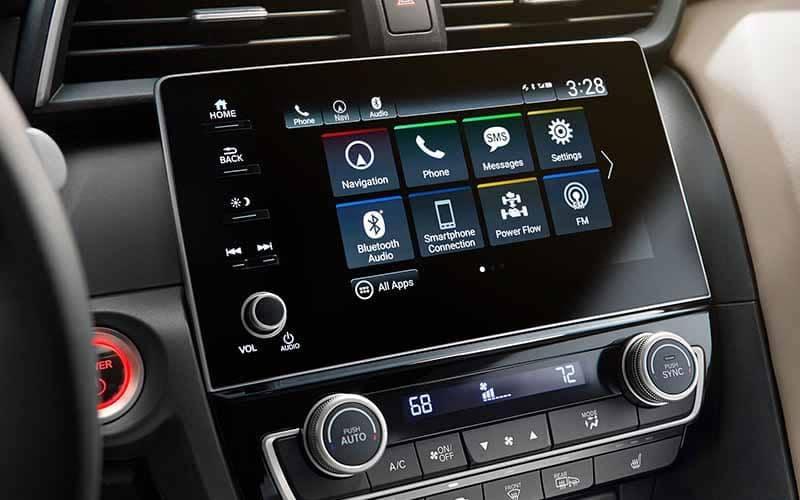 2019 Honda Insight 8 Inch Display Screen