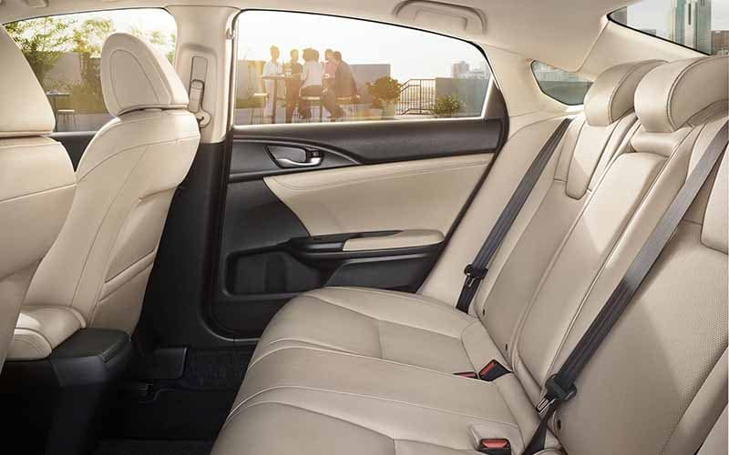 2019 Honda Insight Back Seating with Seatbelt Restraints