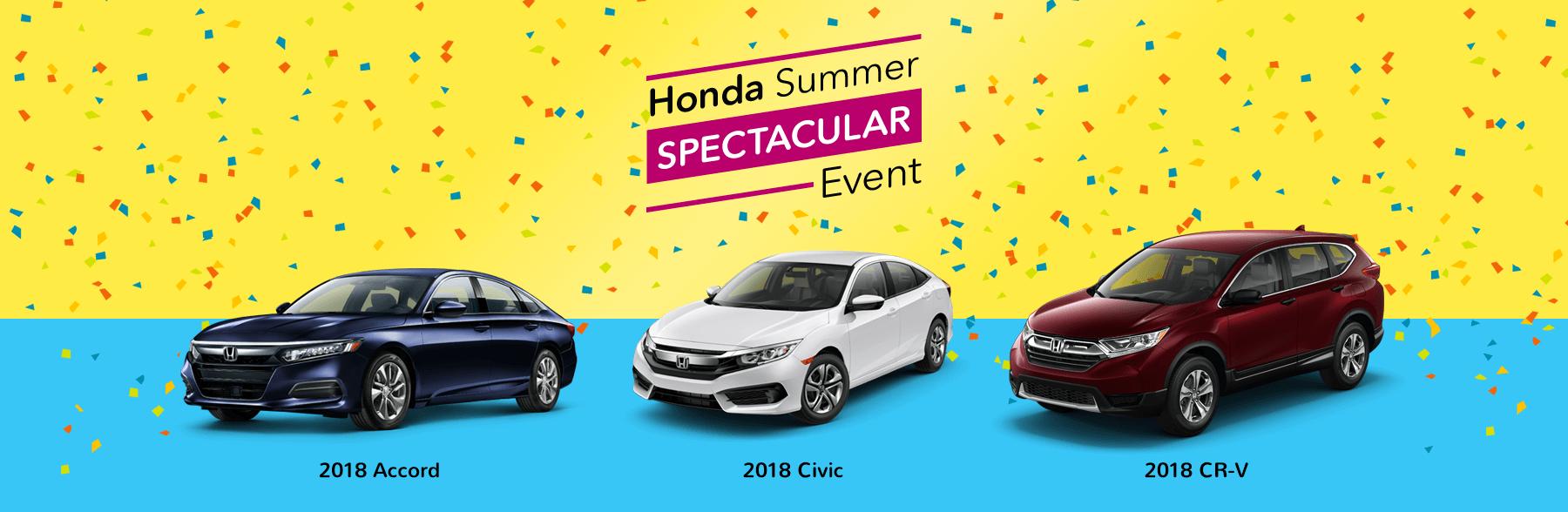 Honda Summer Spectacular Event Slider