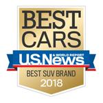 US News 2018 Best SUV Brand