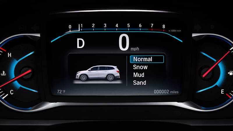 2019 Honda Pilot Traction Management System