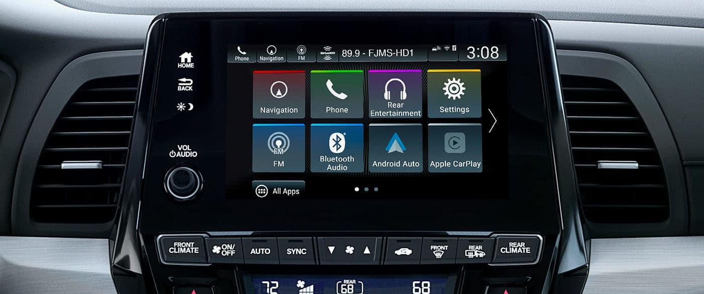 2019 Honda Odyssey Audio Display Screen