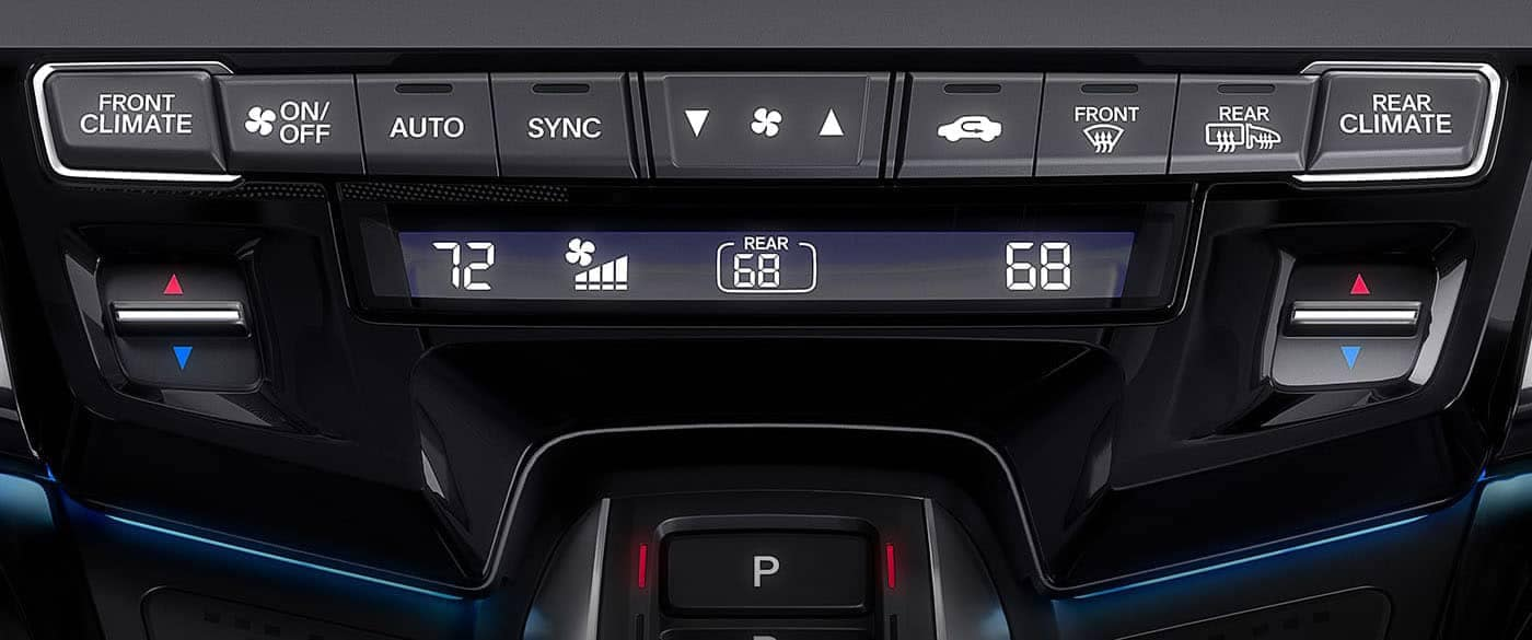 2019 Honda Odyssey Climate Control