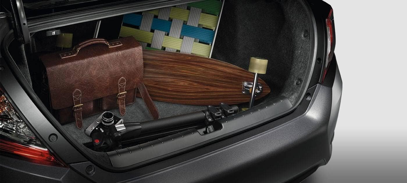 2019 Honda Civic Sedan Trunk Cargo Space