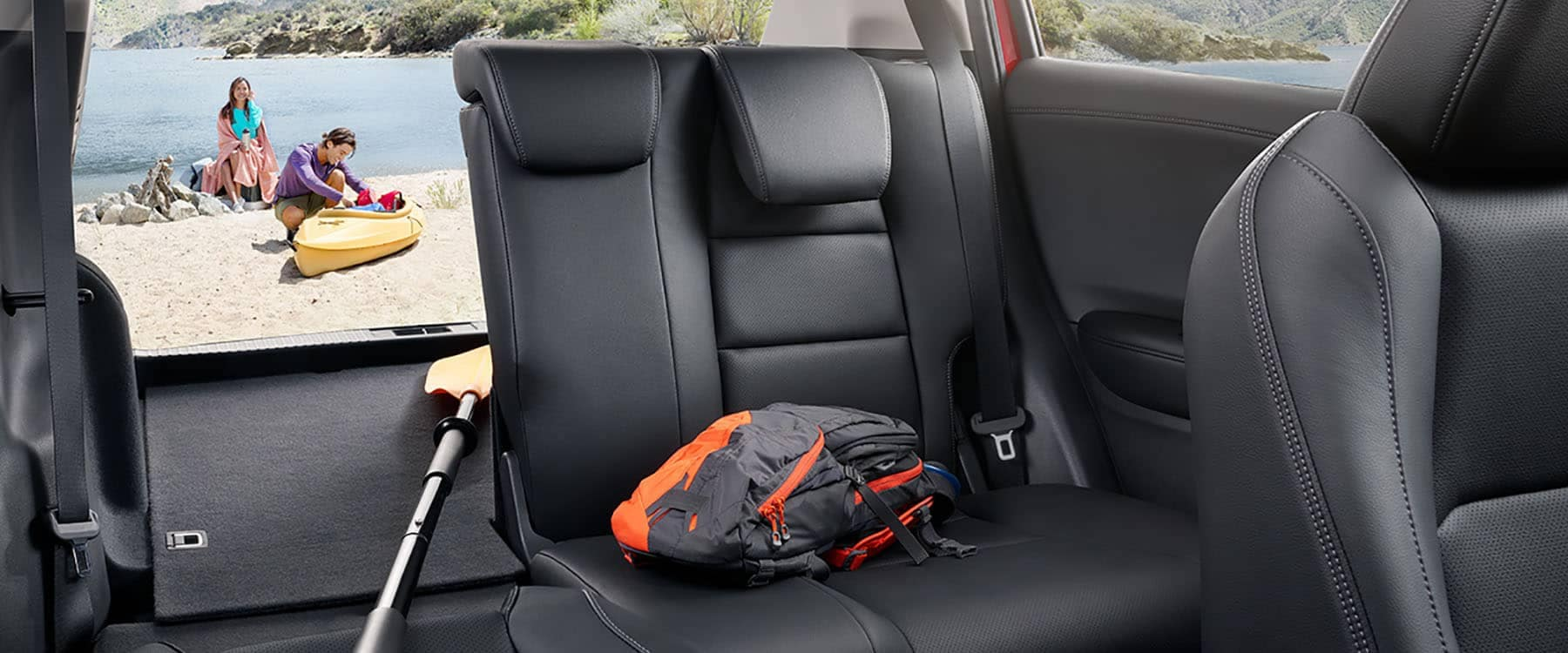 2019 Honda HR-V Cargo Back Seat Area