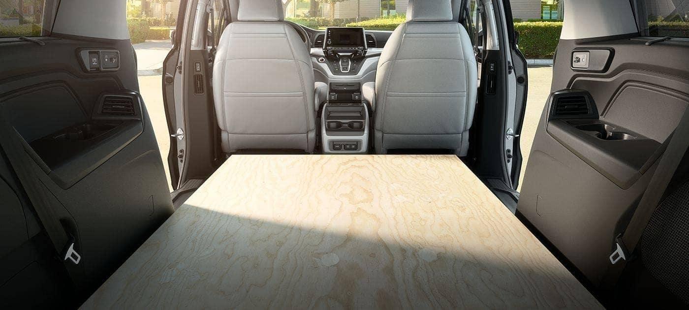 2019 Honda Odyssey Folding Seats Cargo Space