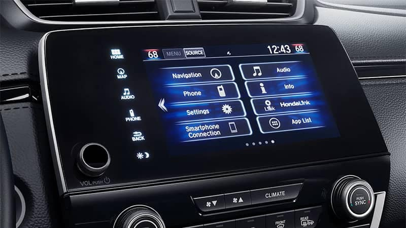 2019 Honda CR-V Audio Display Screen