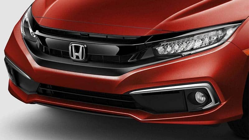 2019 Honda Civic Sedan LED Headlights