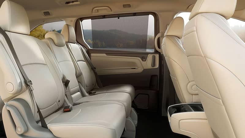2019 Honda Odyssey Leather Seating