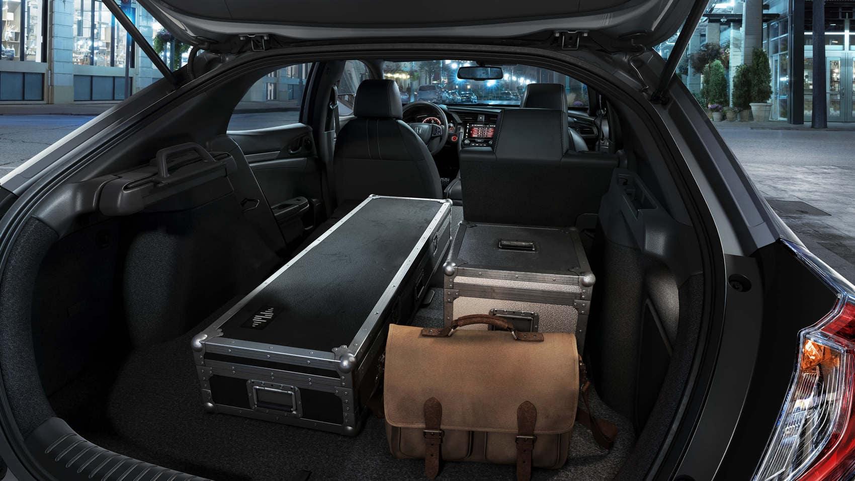 2019 Honda Civic Hatchback Cargo Space
