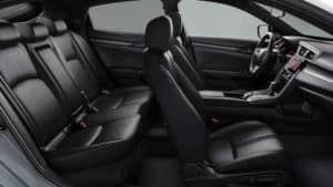2019 Honda Civic Hatchback Passanger Space