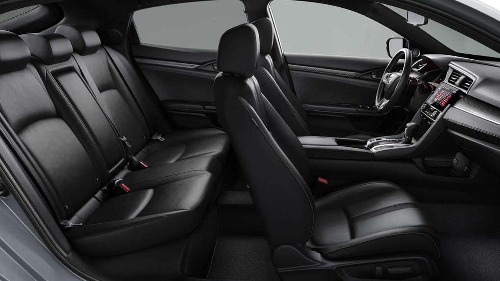 2019 Honda Civic Hatchback Passanger Space