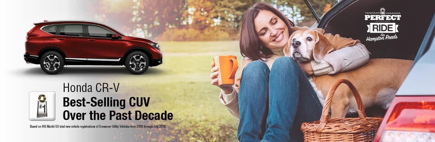 Honda CR-V Perfect Ride Banner