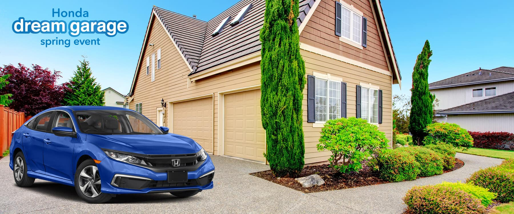 Honda Dream Garage Spring Event 2019 Civic Slider