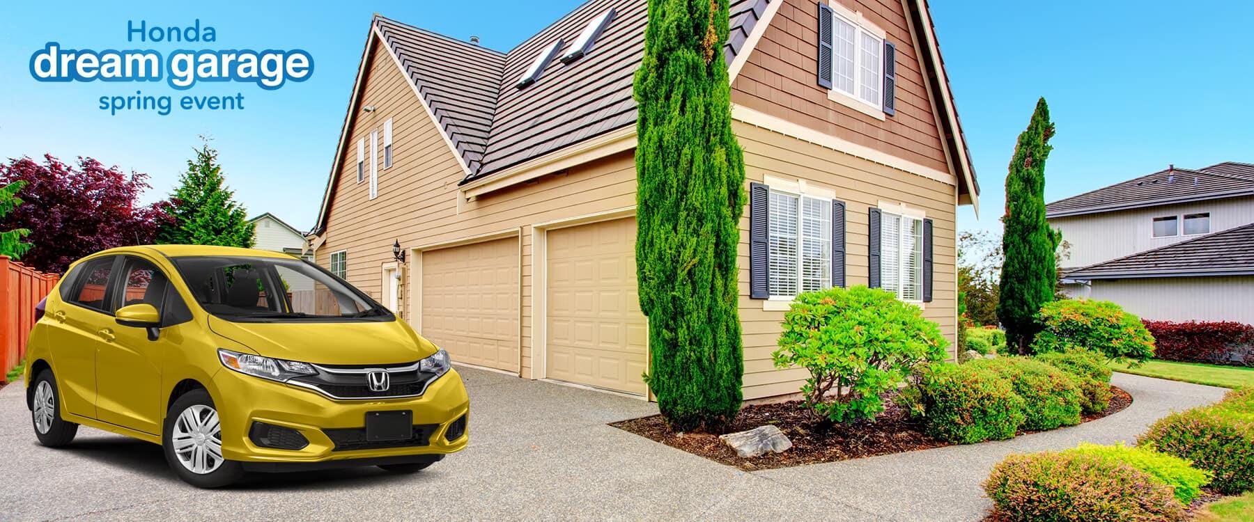 Honda Dream Garage Spring Event 2019 Fit Slider