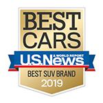 U.S. News 2019 Best SUV Brand Honda Passport