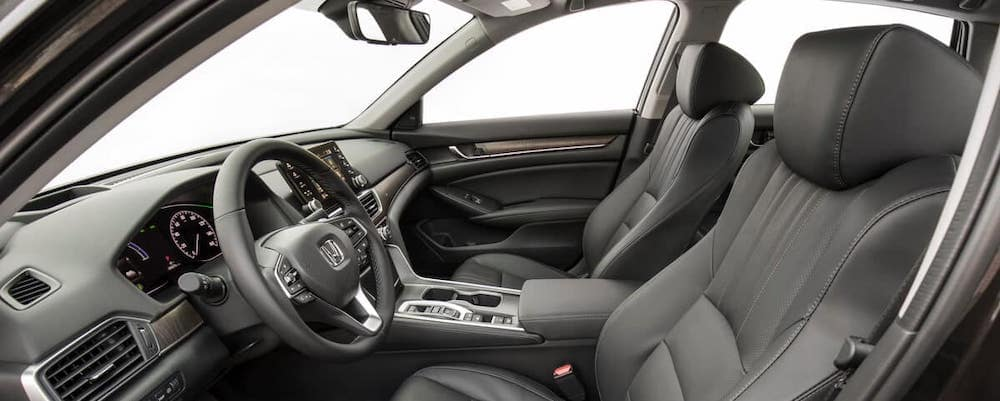 Front seats of 2020 Honda Accord Hybrid