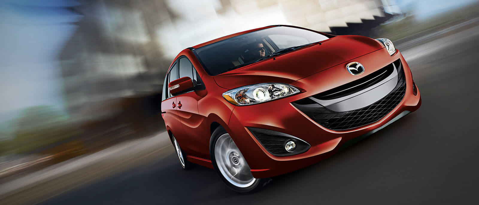 2015 Mazda5 front view