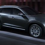 2016 Mazda CX9 driving