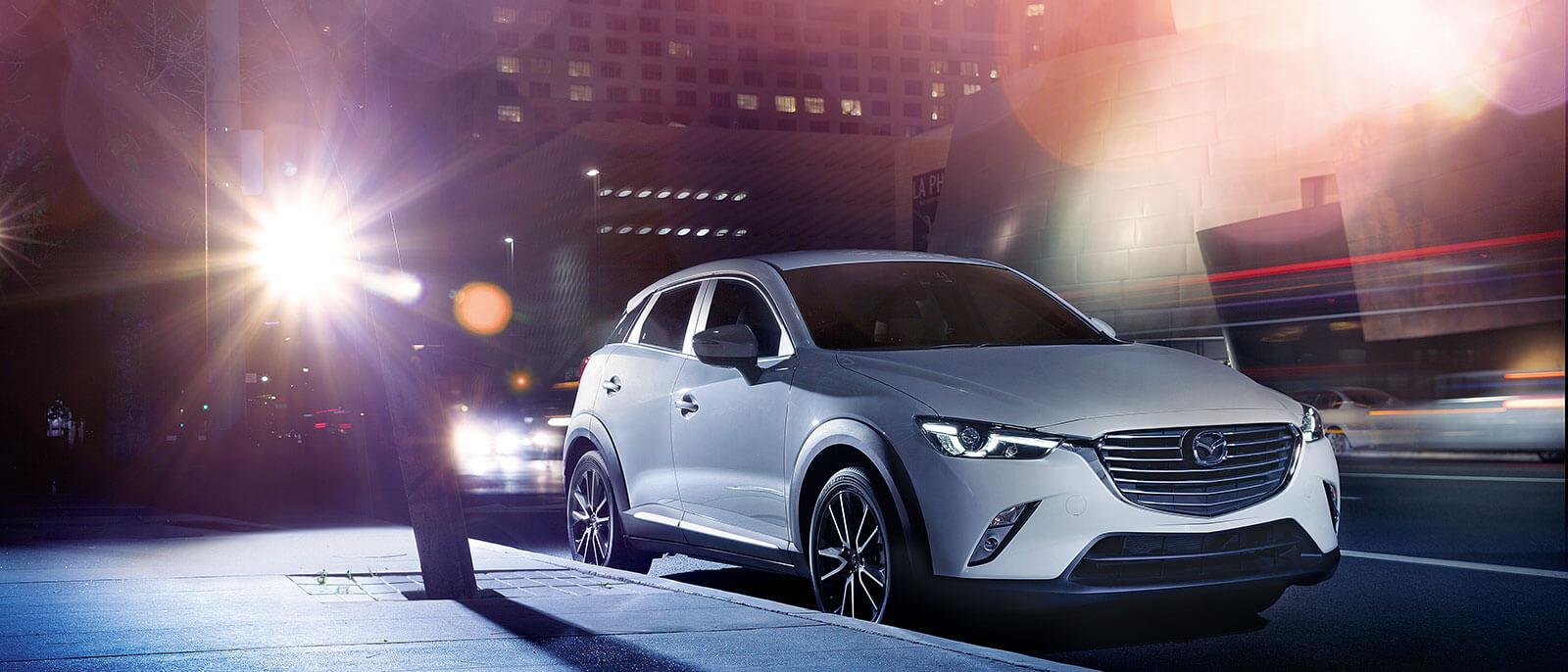 2017 Mazda CX-3 in the city