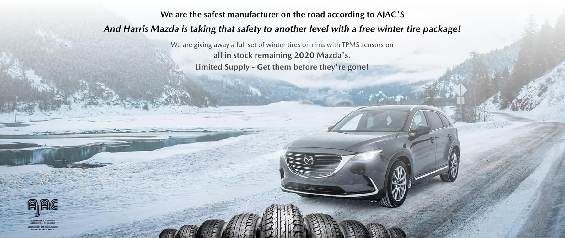 Harris Mazda – Winter Tire Included on all 2020's C